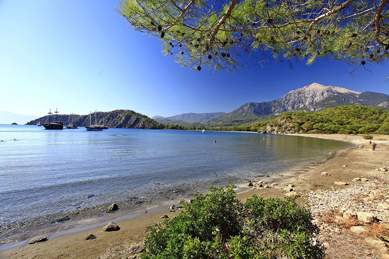 Phaselis Plajı