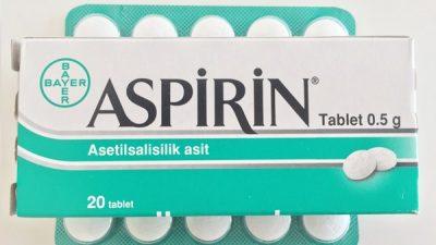 Çocuğunuza kafanıza göre aspirin vermeyin!