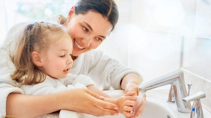 Çocuklara, doğru el yıkama öğretilmeli