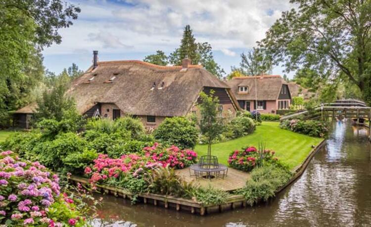 Geithoorn Hollanda - Başkentlerinden Daha Güzel Avrupa Kasabaları Bilgi ve Haber