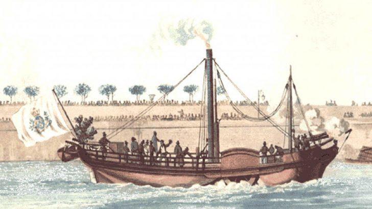 İlk Buharlı Gemiyi Kim Yaptı