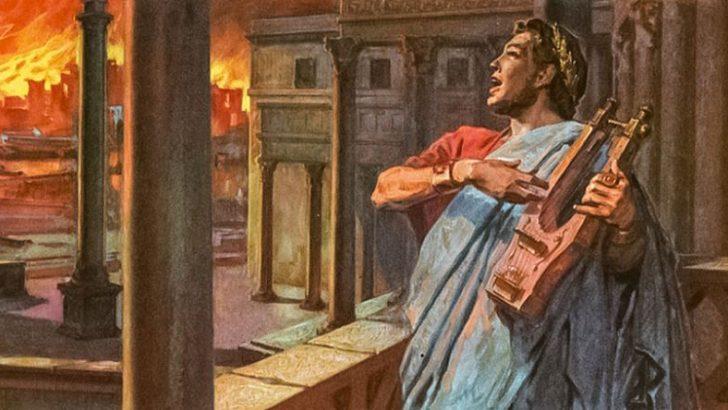 Neron Roma'yı Neden Yaktı