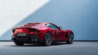 Ferrari 1 adet ürettiği Omologata'yı tanıttı