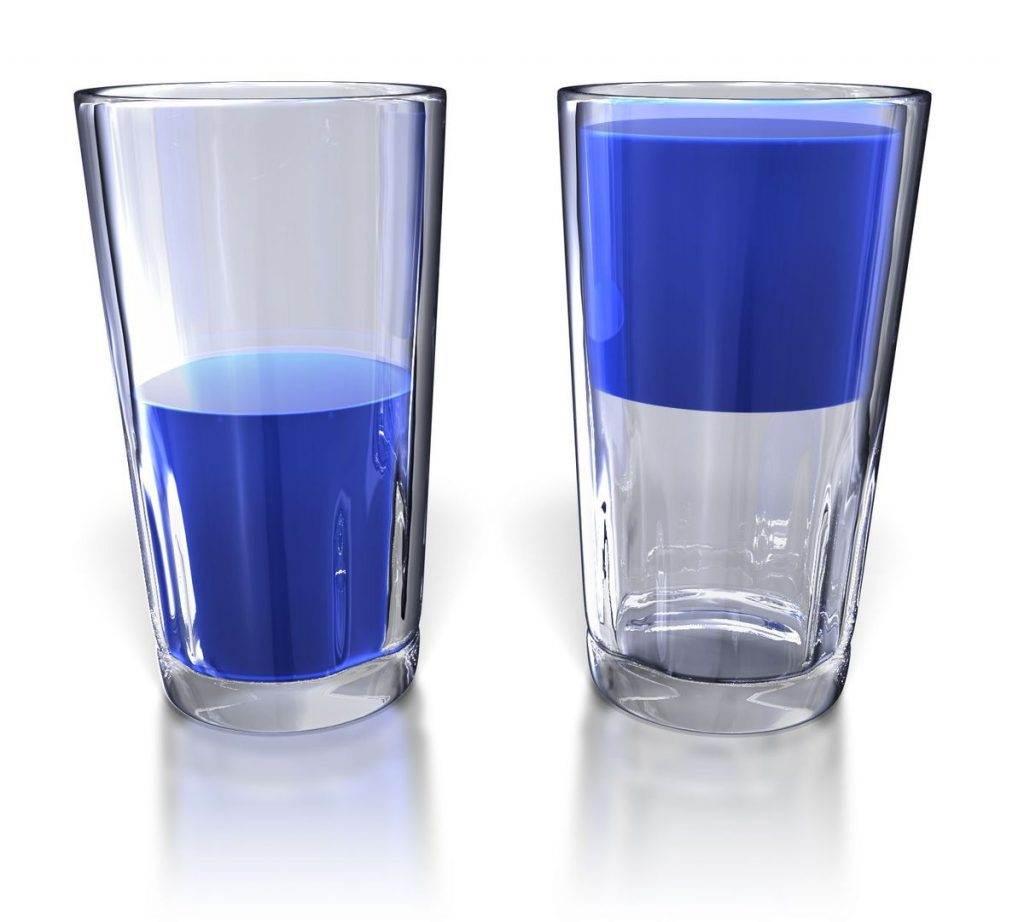 Bardağın dolu tarafını görün