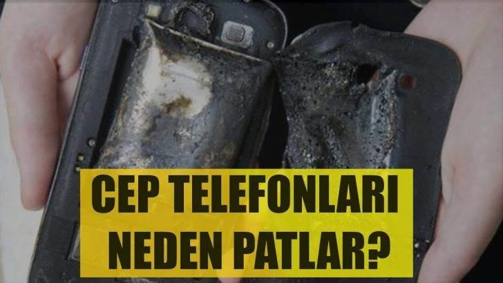 Cep Telefonları Neden Patlar?