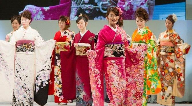 Geleneksel Japon Kıyafetleri