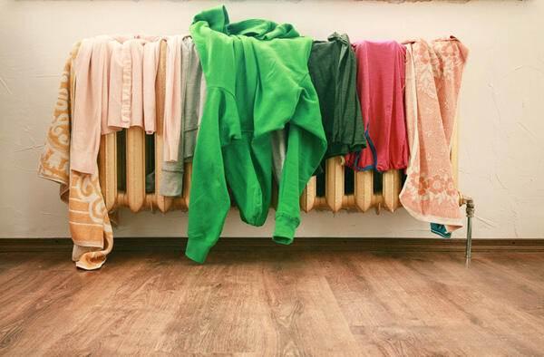 Kalorifer Üzerinde Çamaşır Kurutmanın Zararları