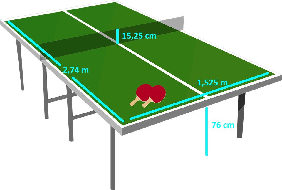Tenis Masası Ölçüleri Ne Kadardır