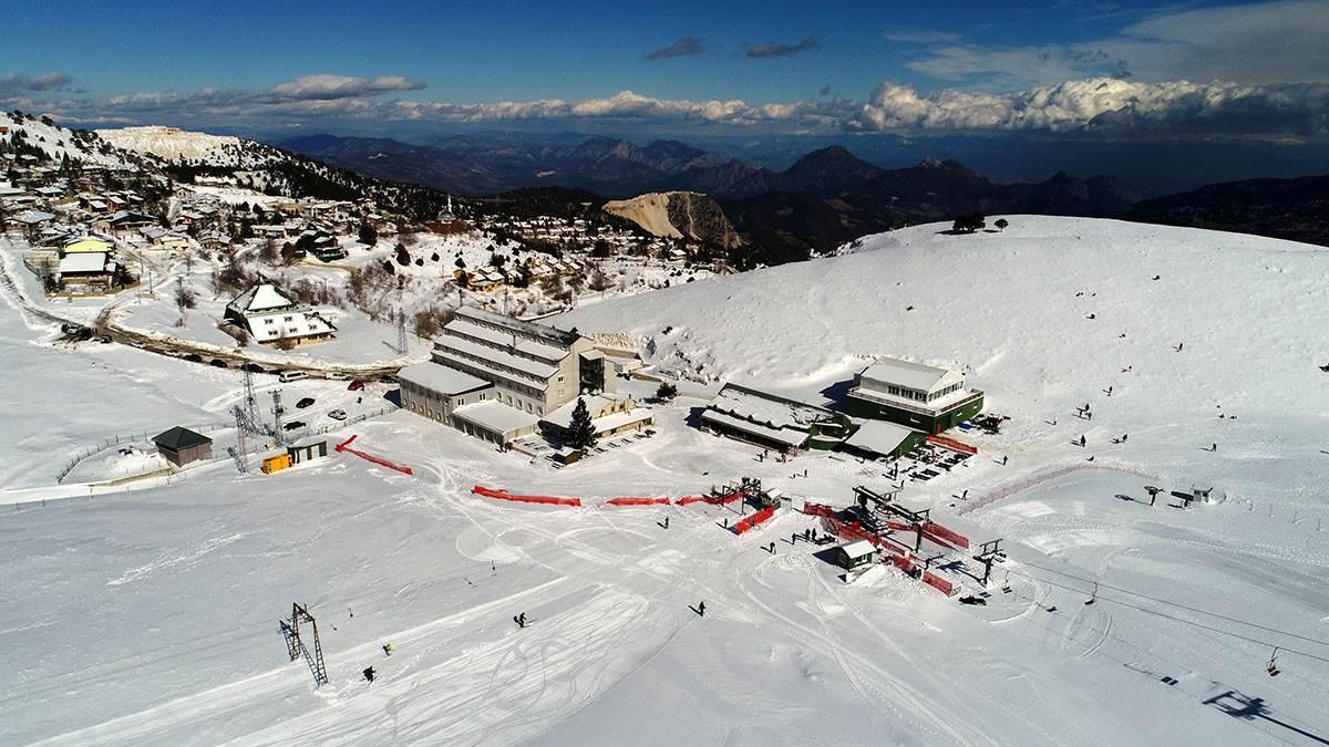 Antalya Saklıkent Kayak Merkezi