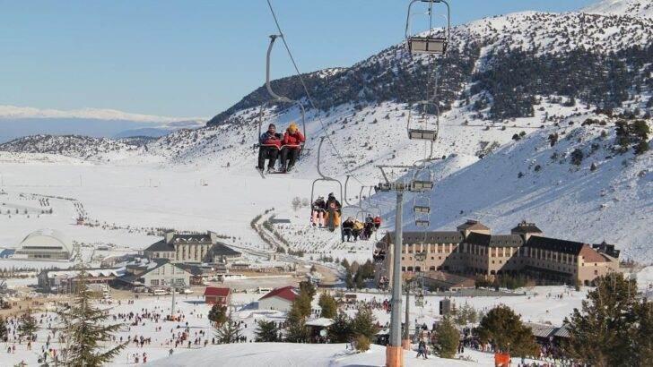 Davraz Kayak Merkezi Kış Sporları