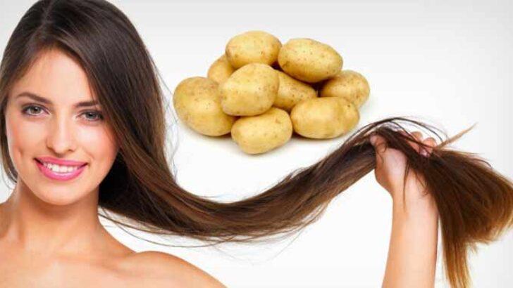 Patates Kabuğu İle Beyaz Saçlara Son!