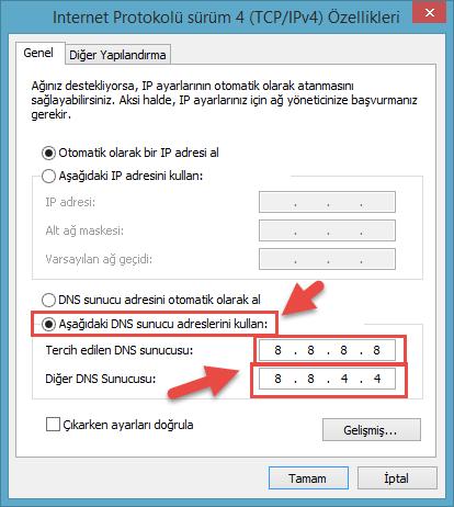 DNS Ayarı Nasıl Yapılır?