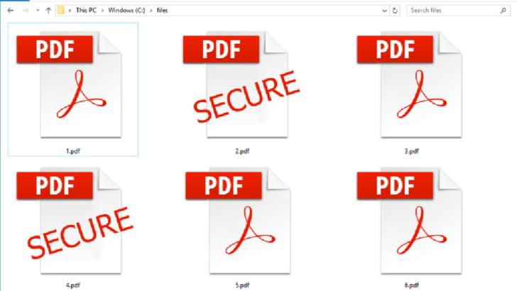Şifreli PDF Dosyası Kopyalama