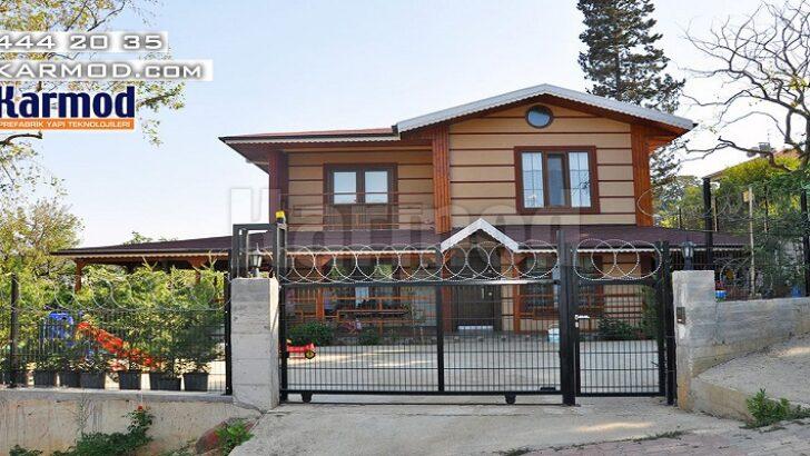 Her Bütçeye Uygun Prefabrik Evler Müstakil ve Yazlık Ev Satışları Arttırdı
